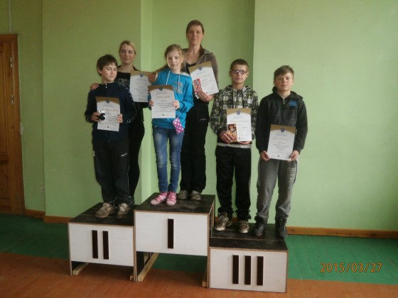 1.vieta - Vineta Bormane, Sintija Szulgo, 2.vieta - Raivo Vidvuds un Sabīne Pliči, 3.vieta - Dagnis Mikals, Edgars Novakšanovs
