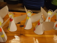 2.Adventē gatavojām dažādus eņģeļus