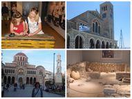 Grieķijas vēsture, muzeji, baznīcas