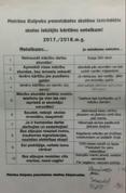 Skolēnu izveidotie noteikumi